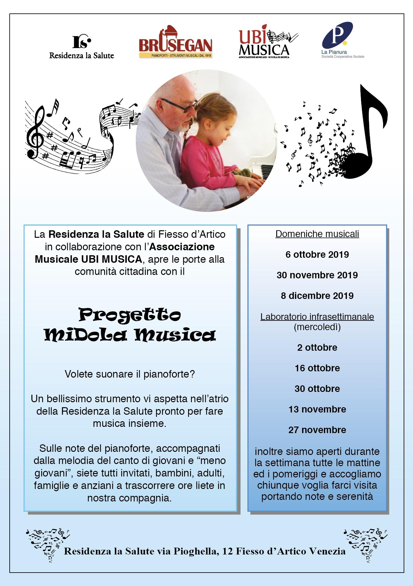 progetto midola musica